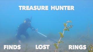 Found Gun Ammunition Rings Cash & Jewelry while River Treasure hunting Switzerland