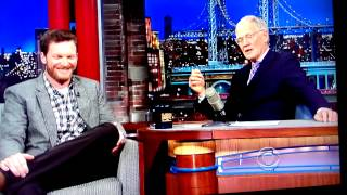 Dale Jr on Letterman