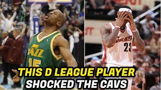 Meet the NBA Player That Stunned LeBron's Cavs, NBA with One Shot