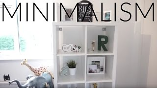 MINIMALISM SERIES | TODDLER BEDROOM ORGANISING AND DECLUTTERING