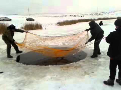рыбалка кастинговой сетью с верхним кольцом видео