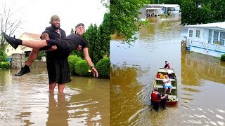 EVACUATION....OUR CITY FLOODED!!