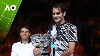 Your 2017 Champion, Roger Federer | Australian Open 2017