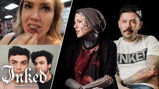 Tattoo Artists React To YouTuber