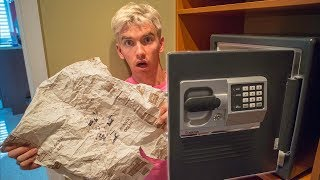 TREASURE MAP FOUND IN ABANDONED SAFE!!