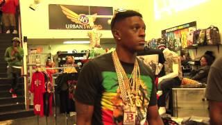 Lil Boosie BadAzz & Gutta Tv Go Shopping, Plus Meet & Greet With Fans