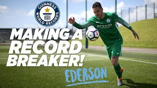 MAKING A RECORD BREAKER | EDERSON DE MORAES | Guinness World Records