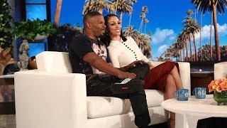 Jamie Foxx & Daughter Corinne Reveal Their Hidden Talent