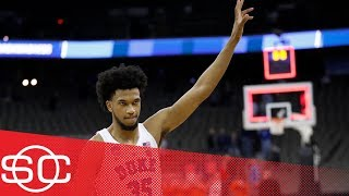 Marvin Bagley and Duke beat Syracuse 69-65 to reach Elite 8 of NCAA tournament | SportsCenter | ESPN