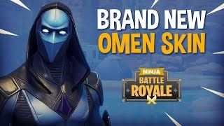 Brand New Omen Skin!! - Fortnite Battle Royale Gameplay - Ninja