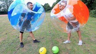 BUBBLE BALL CHALLENGE EXTREM !!! | PrankBrosTV