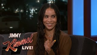 Zoë Kravitz on Her Relationship with Prince