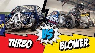 Summernats 3000hp Turbo vs Blower final