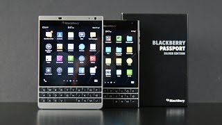 Blackberry Passport Silver Edition: Unboxing & Comparison