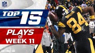 Top 15 Plays of Week 11 | NFL Highlights