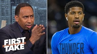 Is the future brighter for the Lakers without Paul George?   First Take