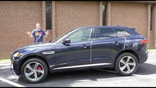The Jaguar F-Pace Is the Average of Every Other Luxury SUV