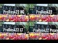 Apple ProRes422・H.264 の画質の違�...mp3