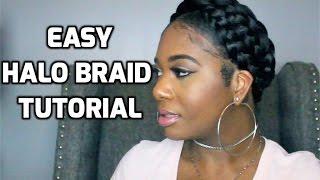 Easy Halo Braid Tutorial using Braiding Hair   PocketsandBows