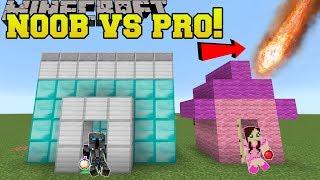 Minecraft: NOOB VS PRO!!! - SUPER BOMB SURVIVAL GEN 2! - Mini-Game