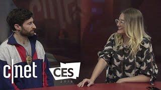 HQ Trivia Quiz Daddy Scott Rogowsky hits CES 2018