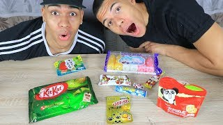 Süßigkeiten Test - JAPAN 2 !!! | PrankBrosTV