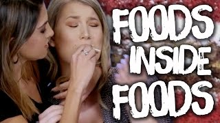 6 Weird Foods Within Foods (Cheat Day)