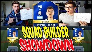 95 TOTS DYBALA SQUAD BUILDER SHOWDOWN vs. REALFIFA! ⚽⛔️😝 - FIFA 17 ULTIMATE TEAM (DEUTSCH)