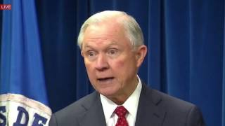 JEFF SESSIONS SPEECH on President Donald Trump NEW TRAVEL BAN & New Executive Order