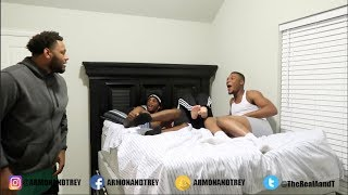 CAUGHT IN THE BED WITH YOUR GIRLFRIEND PRANK!!!