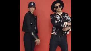 Kris Wu and Kendall Jenner Vogue China BTS (1)