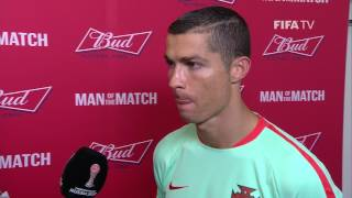 Cristiano Ronaldo: FIFA Man of the Match - Match 5: Russia v Portugal