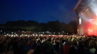 Paddy Kelly auf der Bühne im Mangfallpark
