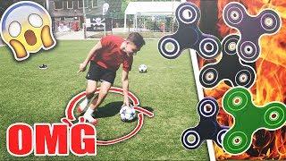 EXTREME FIDGET SPINNER FUßBALL CHALLENGE !! 😱| BenjiTV Vs Marlon