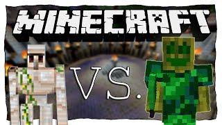 EISENGOLEM VS. CHAOSFLO44 | Minecraft: Eisengolem vs. Monster • #44 | Ore Spawn Mod