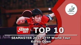 DHS ITTF Top 10 - 2017 Korea Open
