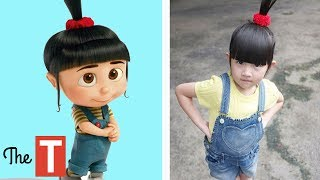 10 DESPICABLE ME Characters In Real Life