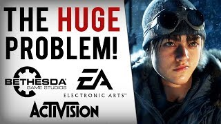 EA, Bethesda & Activision Lose Billions In 2018 & Things May Only Get Worse...