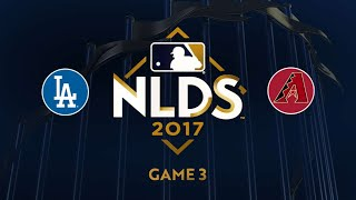 Dodgers sweep D-backs to advance to NLCS: 10/9/17