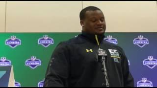 Carlos Watkins, DT, Clemson   2017 NFL Scouting Combine