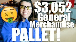 Liquidation Pallet Unboxing | $3052 for only $319 Resell on eBay Amazon Mercari FB Market