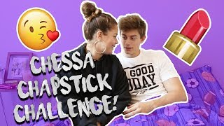 CHAPSTICK CHALLENGE W/ CHANCE SUTTON AND TESSA BROOKS!