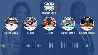 UNDISPUTED Audio Podcast (11.06.17) with Skip Bayless, Shannon Sharpe, Joy Taylor | UNDISPUTED