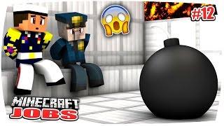 MINECRAFT JOBS: DIE LÖSEGELD-ÜBERGABE GEHT SCHIEF... STERBEN WIR?! | Minecraft Roleplay • #12