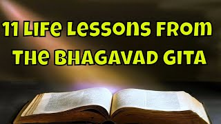 11 Life Lessons From The Bhagavad Gita | Life changing lessons | Success Through Bhagwad Gita