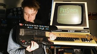 Commodore PET. Synth guitar? #COMMODORE #GUITAR