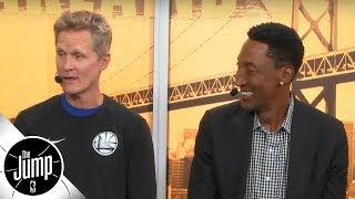 Steve Kerr and Scottie Pippen reminisce on Phil Jackson