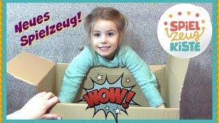 Meine Spielzeugkiste ♥ Hannah sucht sich neues Spielzeug aus ♥ Unboxing