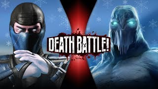 Sub-Zero VS Glacius (Mortal Kombat VS Killer Instinct) | DEATH BATTLE!