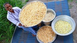 Popcorn 🌽 Recipe Without Oven By Grandpa | Multi Flavored Crispy Pop Corn Recipe